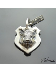 Pendant Boar Silver
