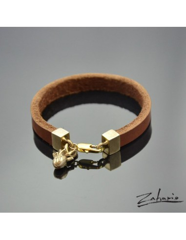 Bracelet Anatomical Heart Bronze