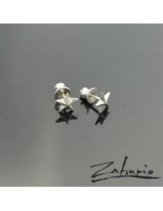 Earrings Stars Sliver